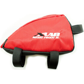 XLAB Rocket Pocket Frame Bag XL red